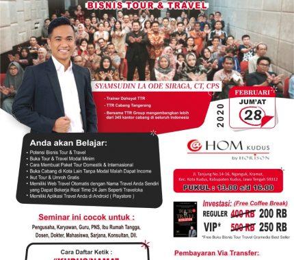 seminar Tour & Travel